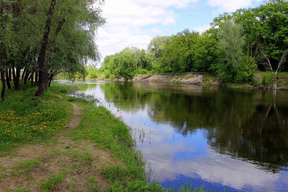 В реку смотрятся облака... - Валентина ツ ღ✿ღ