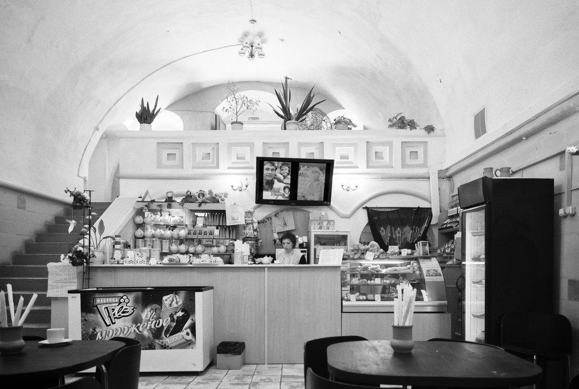 Кафе в Кремле города Ростова Великий, Ярославской области - Алексадр Мякшин