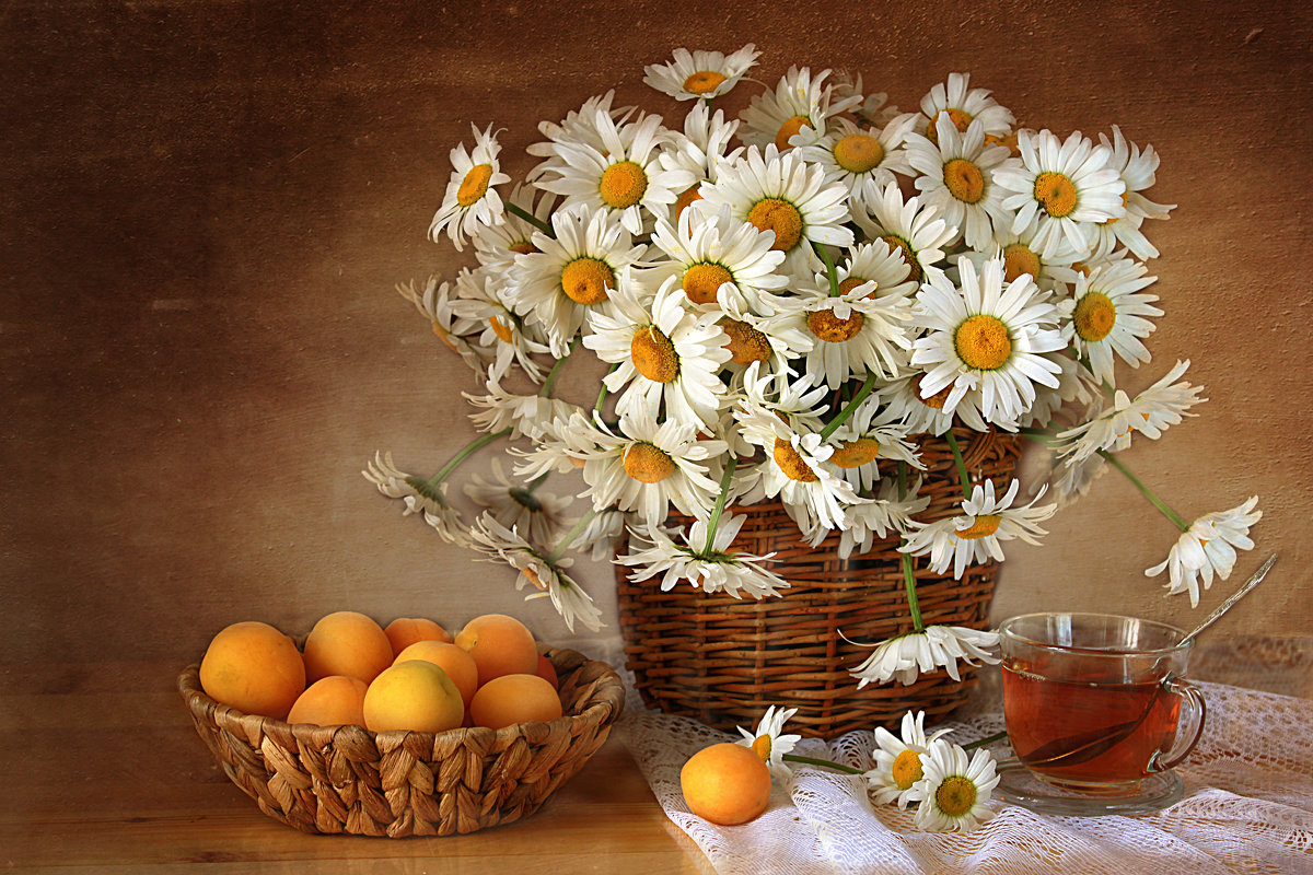 Про ромашки и абрикосы. - alfina