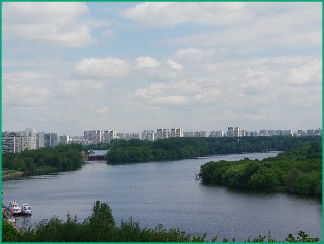 Вид на Москва-реку... - Николай Дони