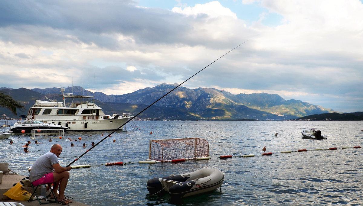 рыбалка в которской бухте