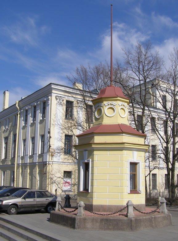 Кронштадтский футшток - Анна Воробьева