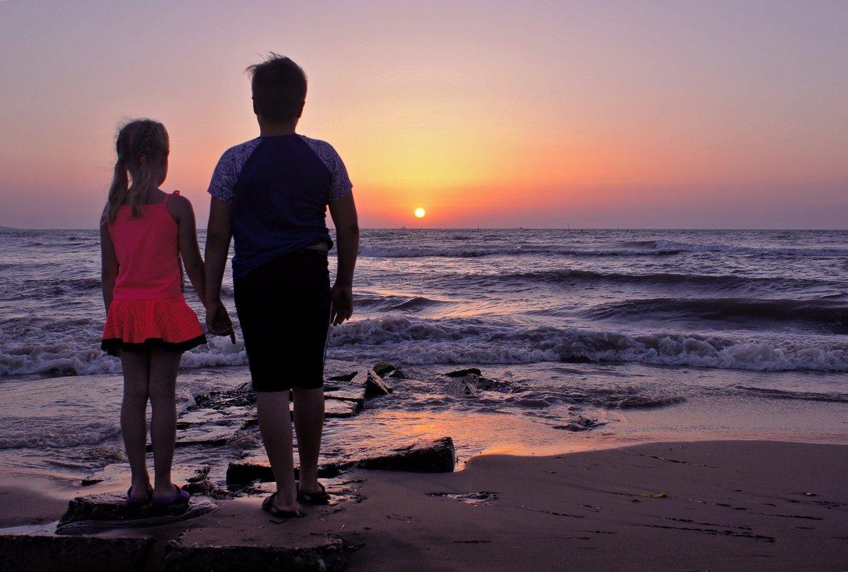 Дети и море.... - владимир