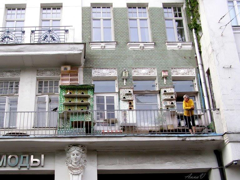 Голубятня на балконе :: анна воробьева - социальная сеть фот.