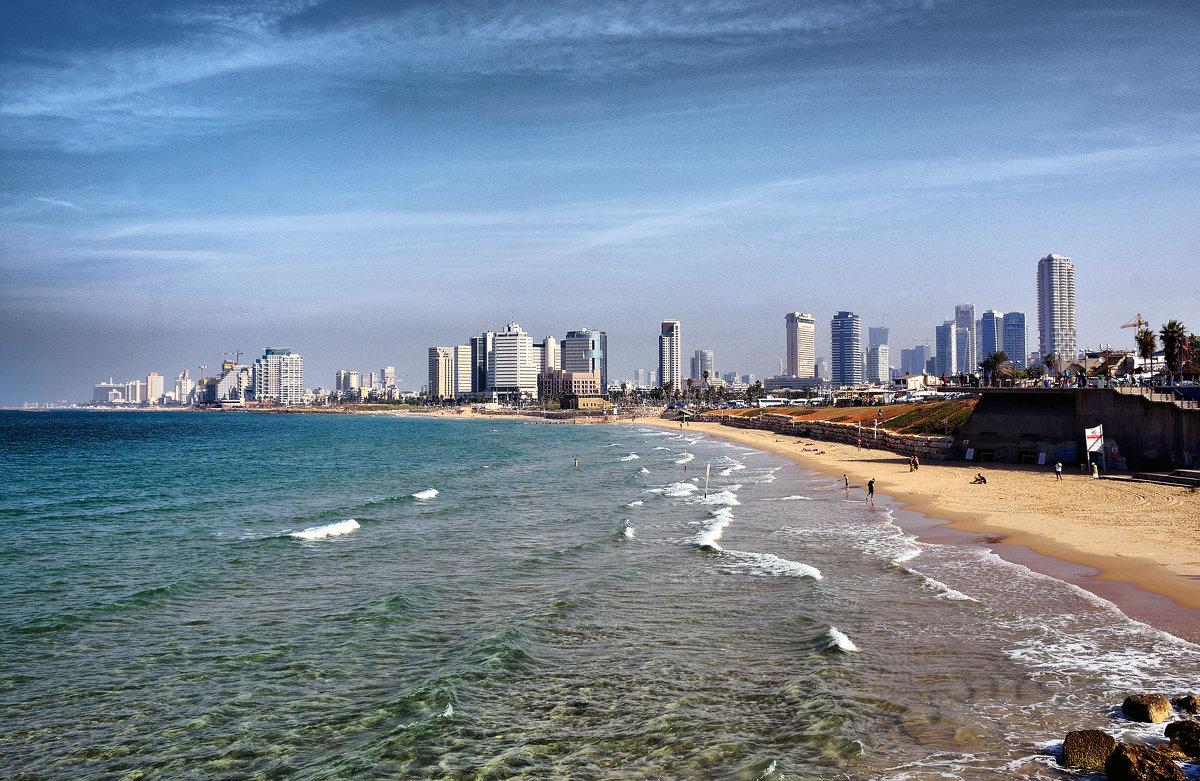 Тель-Авив вид с моря - Валерий Баранчиков