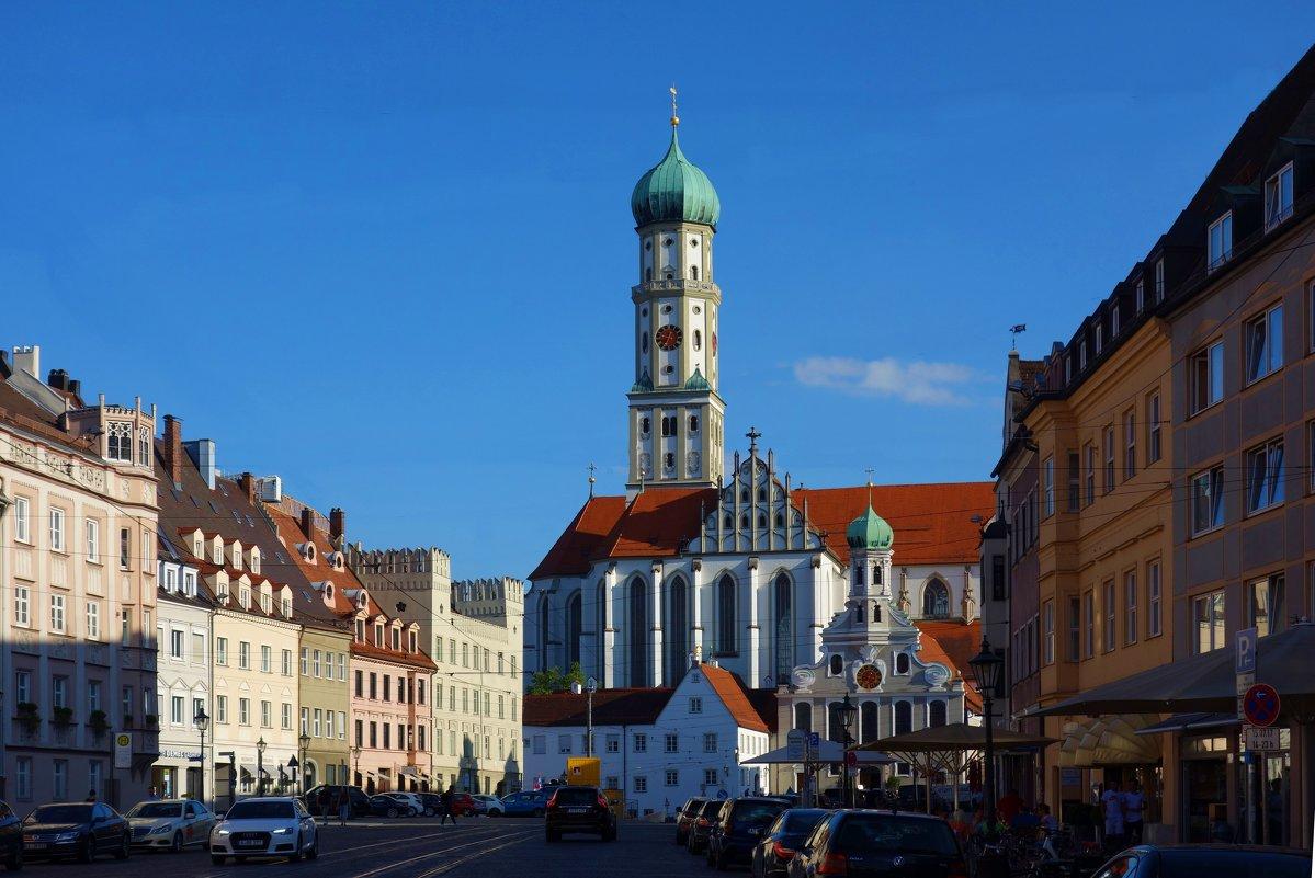 Augsburg...ЦЕРКОВЬ СВЯТЫХ АФРЫ И УЛЬРИХА - Galina Dzubina