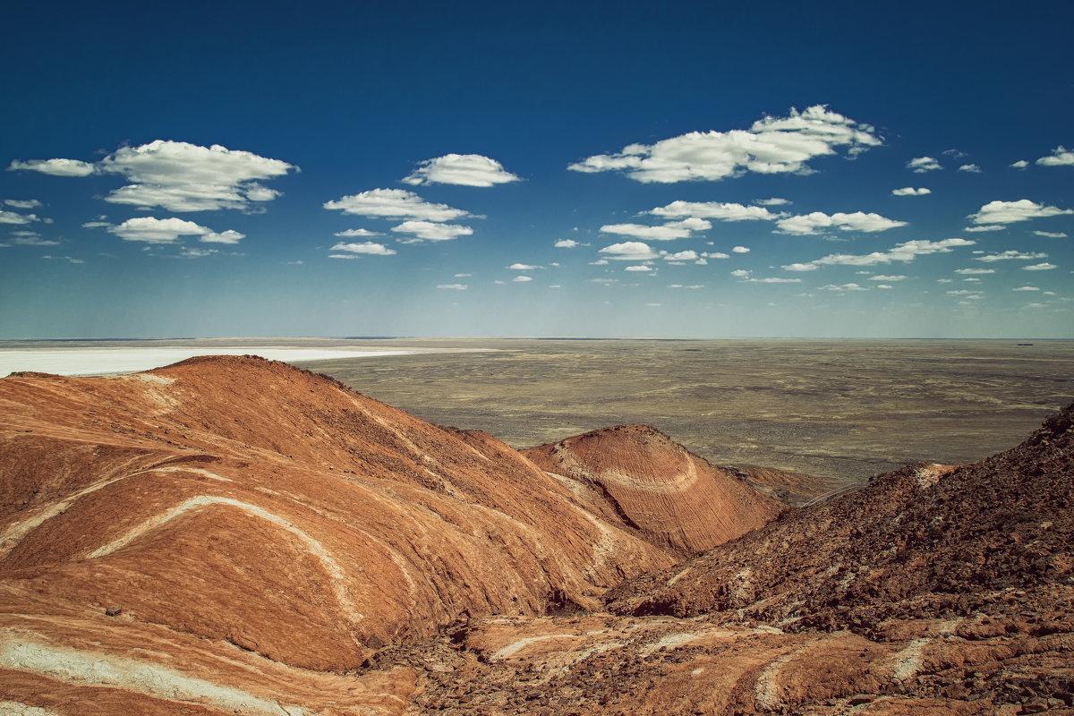 Вид с горы Богдо - OzMann
