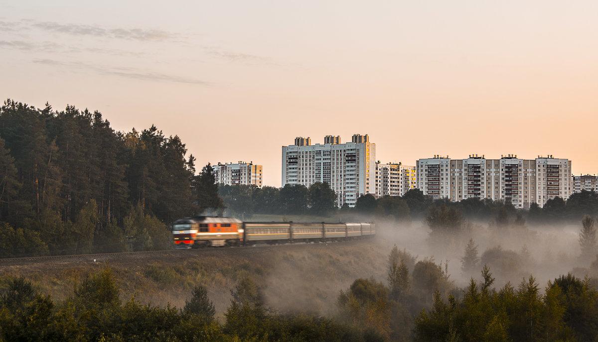 Утренний туман - Роман