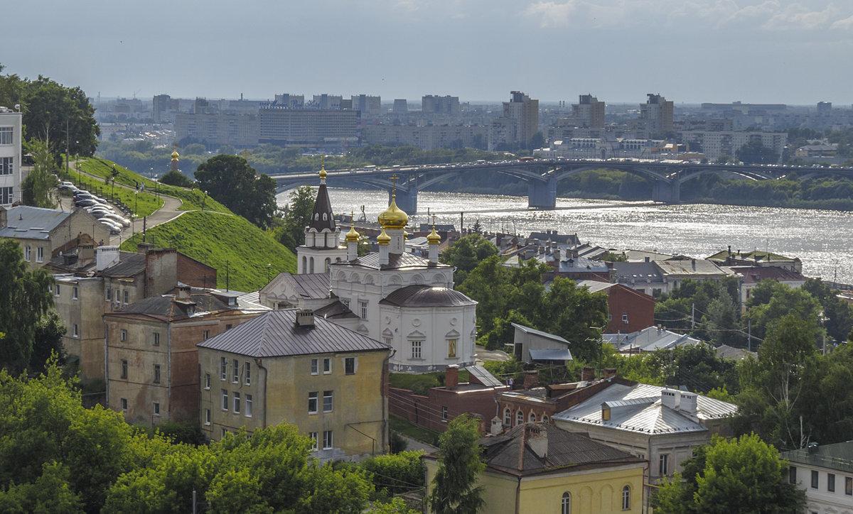 Нижегородский пейзаж - Сергей Цветков