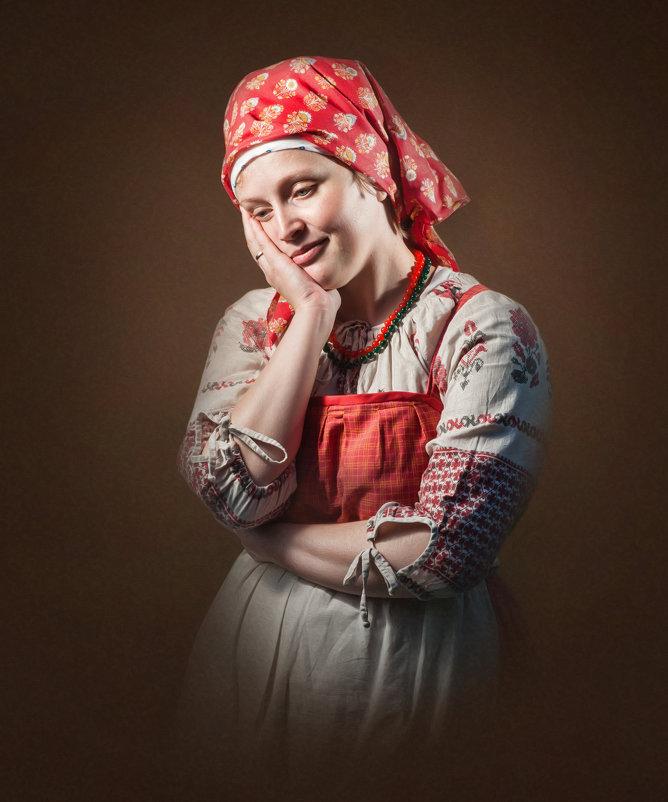 Портрет крестьянки - Олег Дроздов