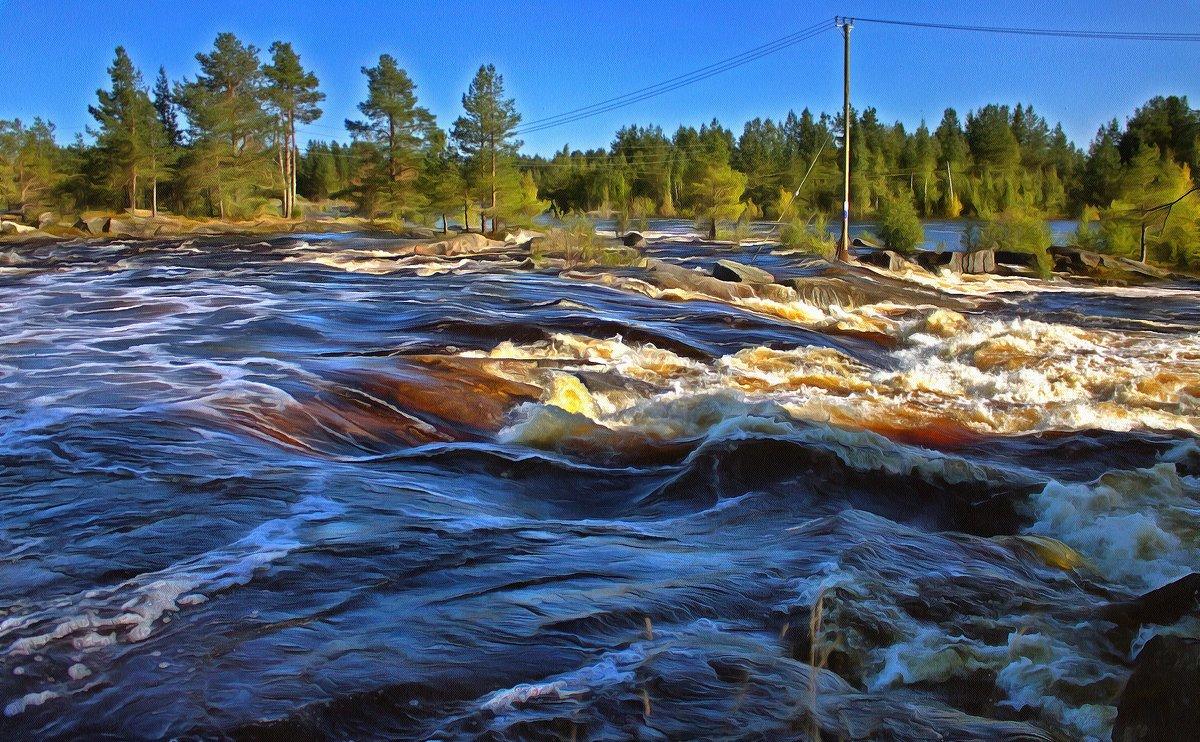 река Выг - Анжела Пасечник