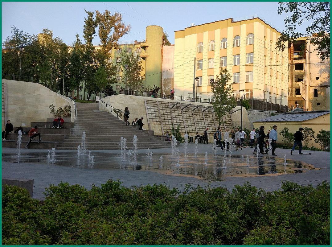 уютный уголок столицы... - Николай Дони