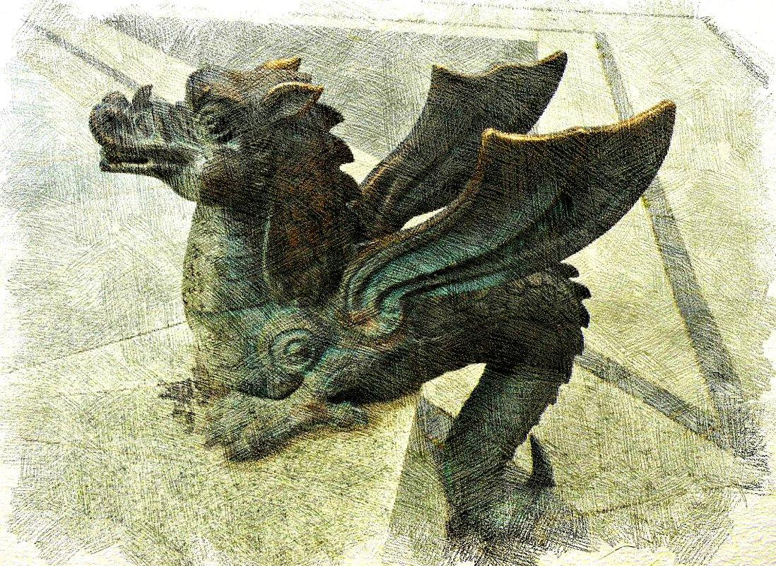 Казанский дракоша - Зилант - Андрей Головкин