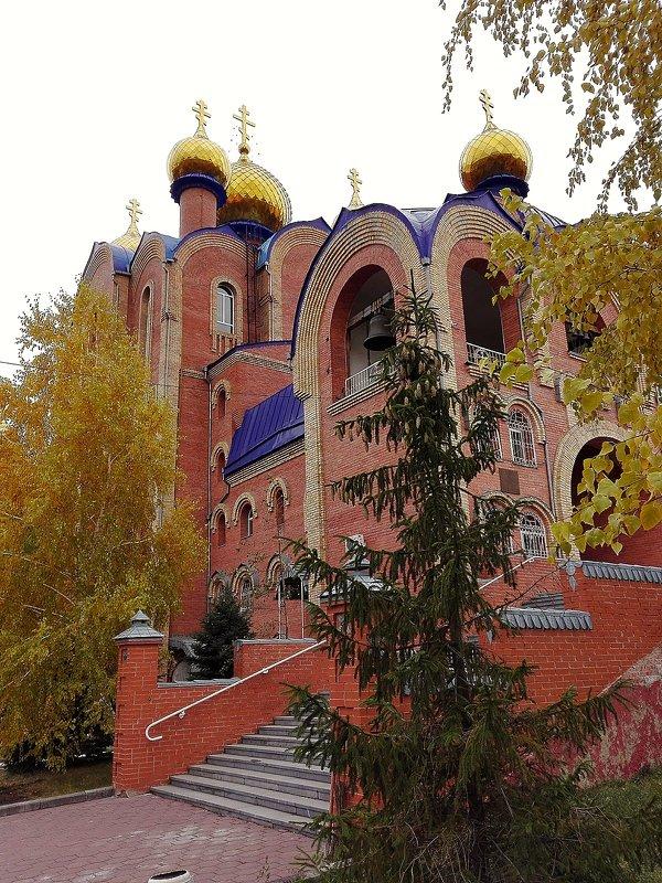 Серафимо-Иверский собор — православный храм Экибастуза - TATYANA PODYMA