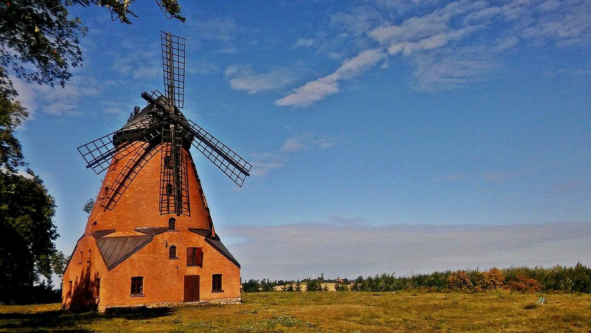 Ветряная мельница голландского типа. - donat