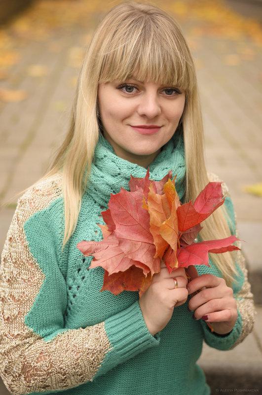 Осенняя задумчивость мила, она несет не буйство жизни, она свежа, тиха, скромна... - Алеся Пушнякова