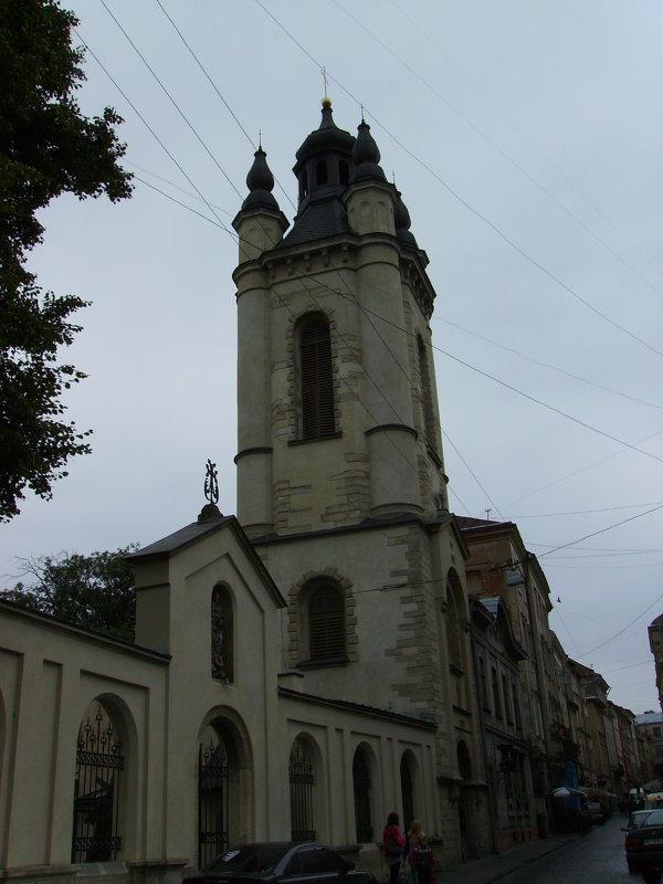 Звонница   18   столетия   в   Львове - Андрей  Васильевич Коляскин