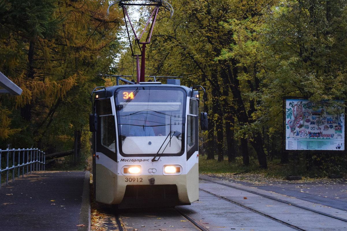 Трамвайчик доставит вас в осень. - Татьяна Помогалова