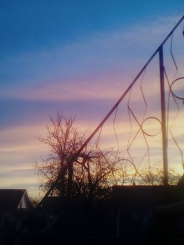 Рассвет из моего окна - Kseniya Merkulova