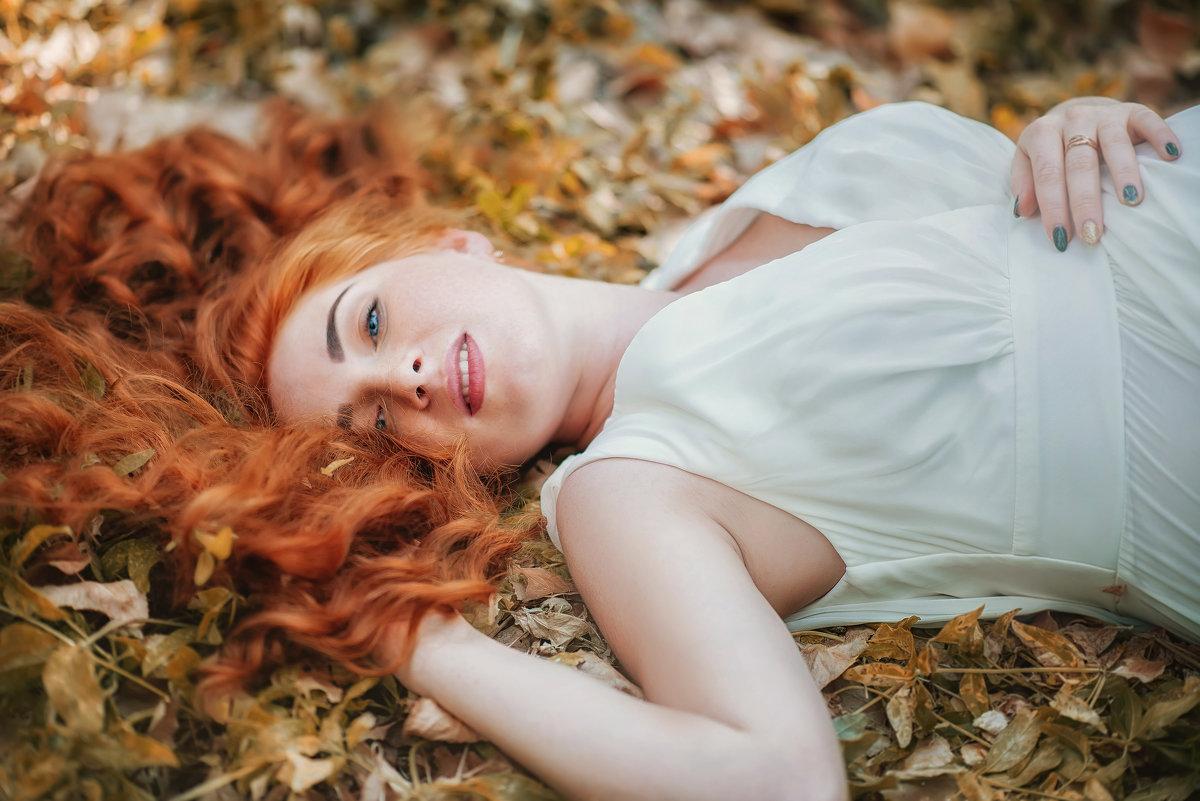Девушка с волосами цвета солнца - Елена Федорова