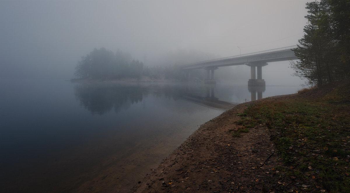 Речные берега окутаны туманом... - Евгений Плетнев