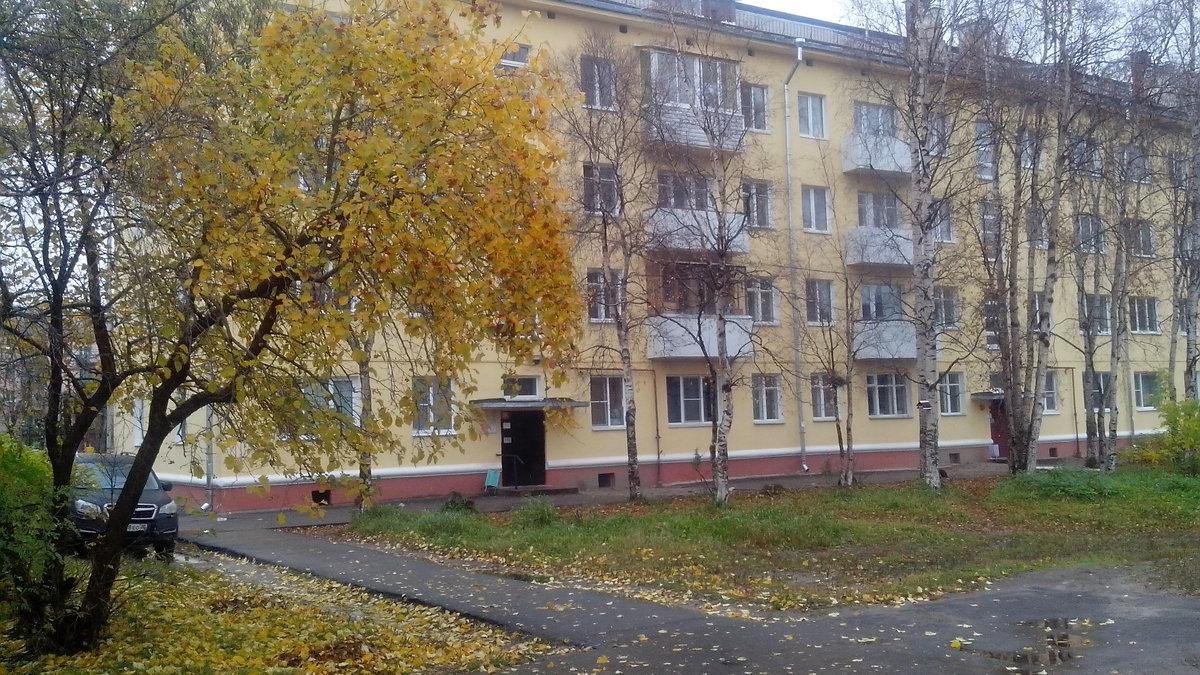 осенний дворик - Ирина Л