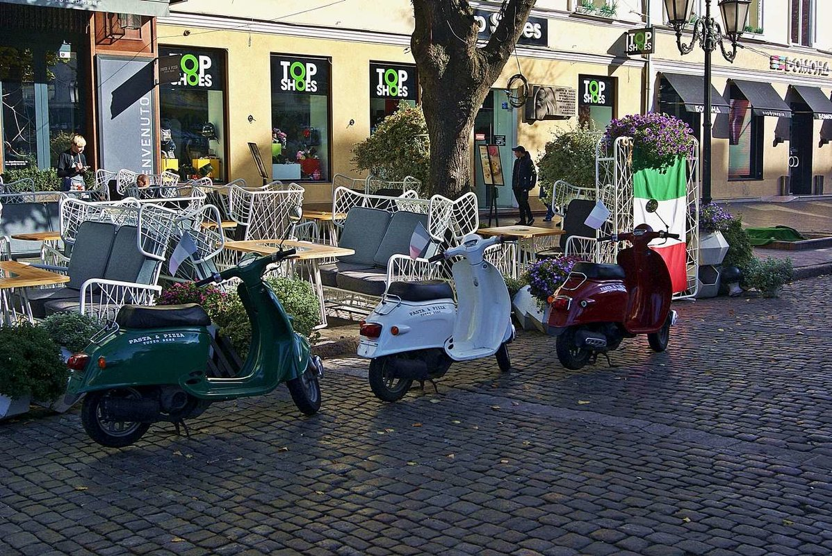 транспорт итальянской пиццерии - Александр Корчемный