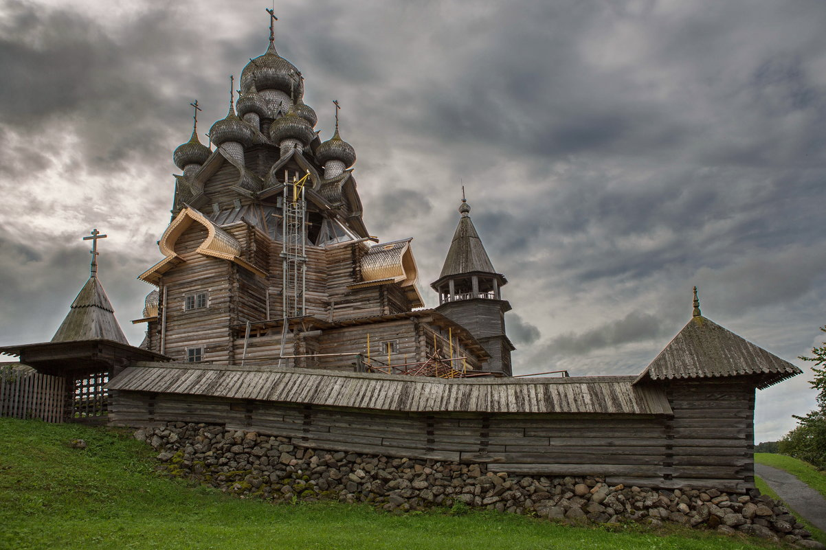 Путешествие из Петербурга в Москву. Онега.Кижи - юрий макаров