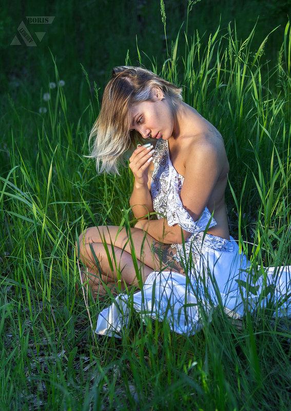 Портрет в траве - Борис Лебедев