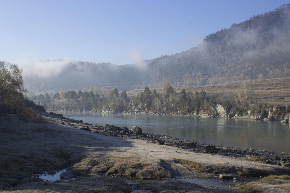 Утренний туман над Катунью - Алина Меркурьева
