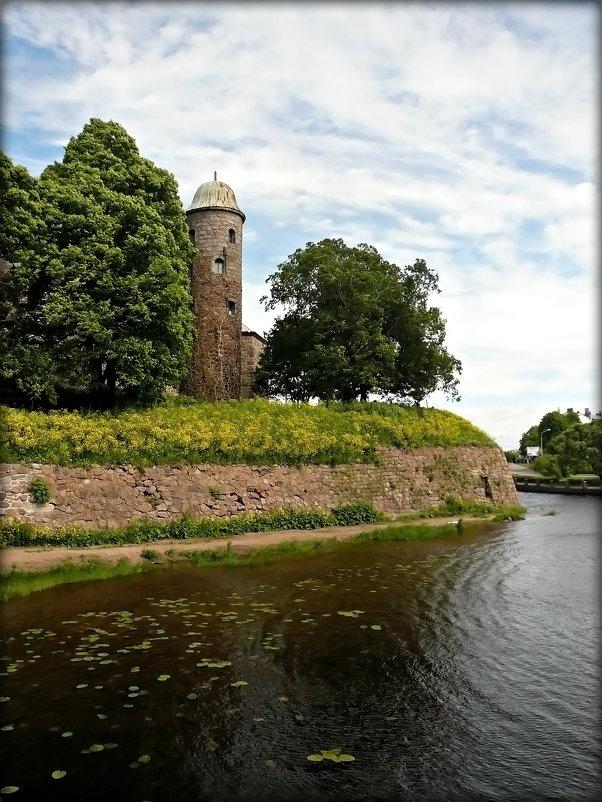 Замковый остров в Финском заливе - Galina Belugina