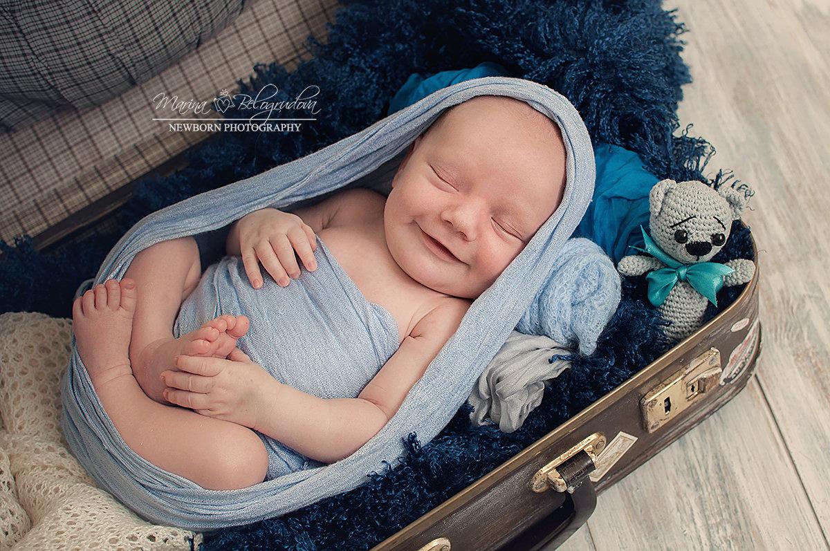 Фотосессия новорожденный - Марина Белогрудова