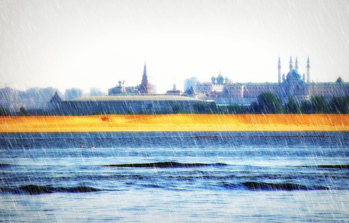 Кремль в дожде... - Андрей Головкин