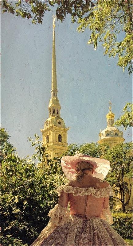 Летний сюжет - Цветков Виктор Васильевич