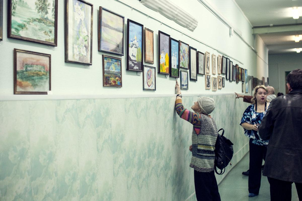 """Выставка картин """"Другое измерние"""" - Марина Алексеева"""