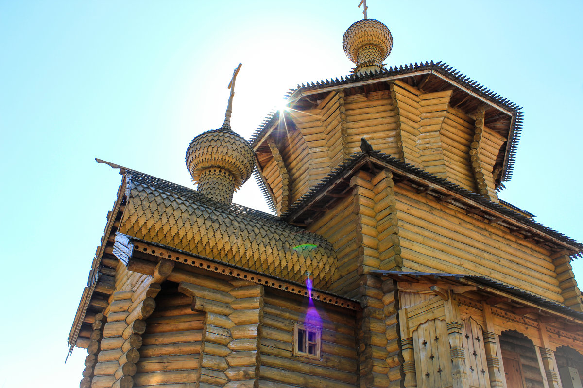 Храм во имя Всех святых - Gaivor ina