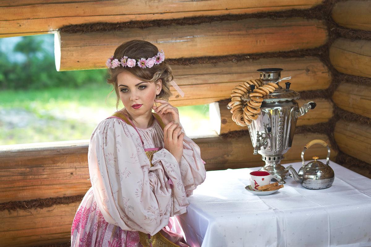 Чаепитие на веранде - Александр Ещенко