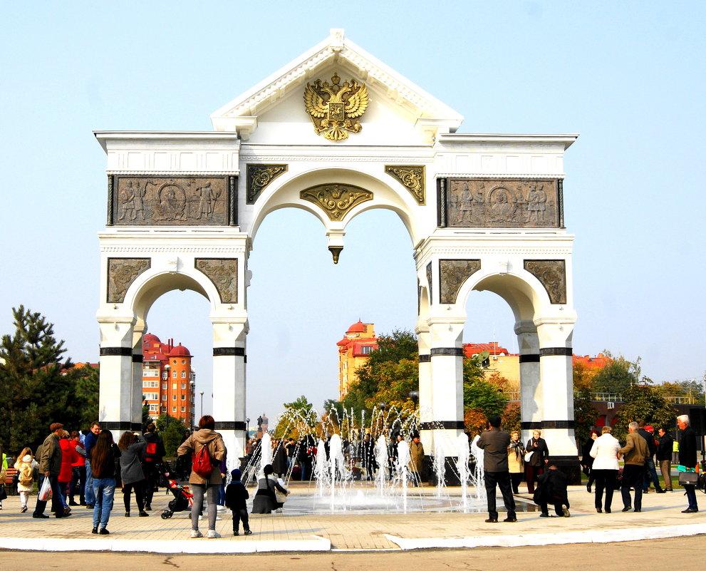 Триумфальная арка. - Александр Владимирович Никитенко