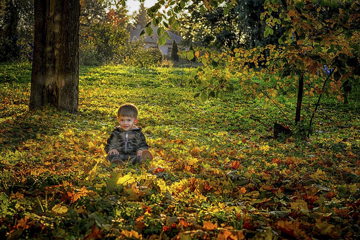 На солнечной поляночке... - Александр Бойко