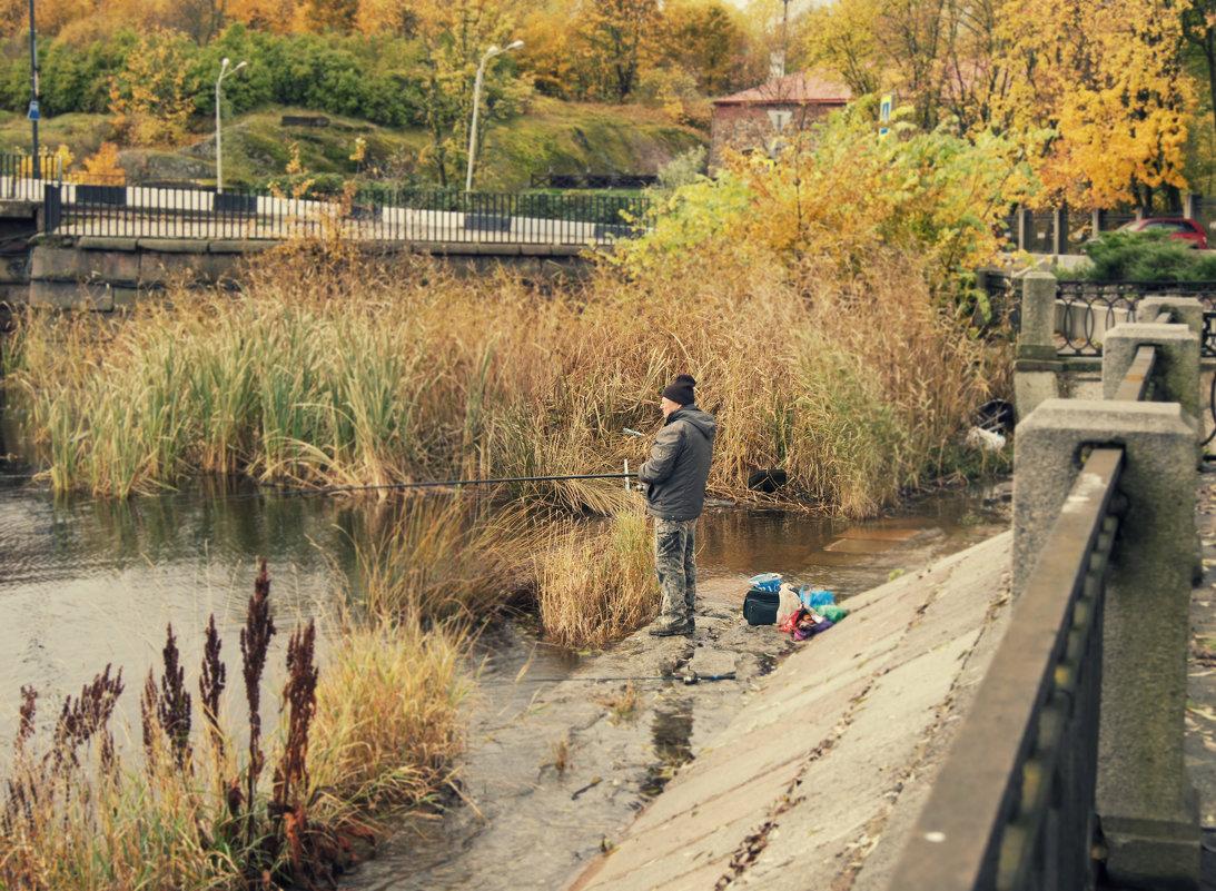 Осенняя рыбалка. - сергей лебедев