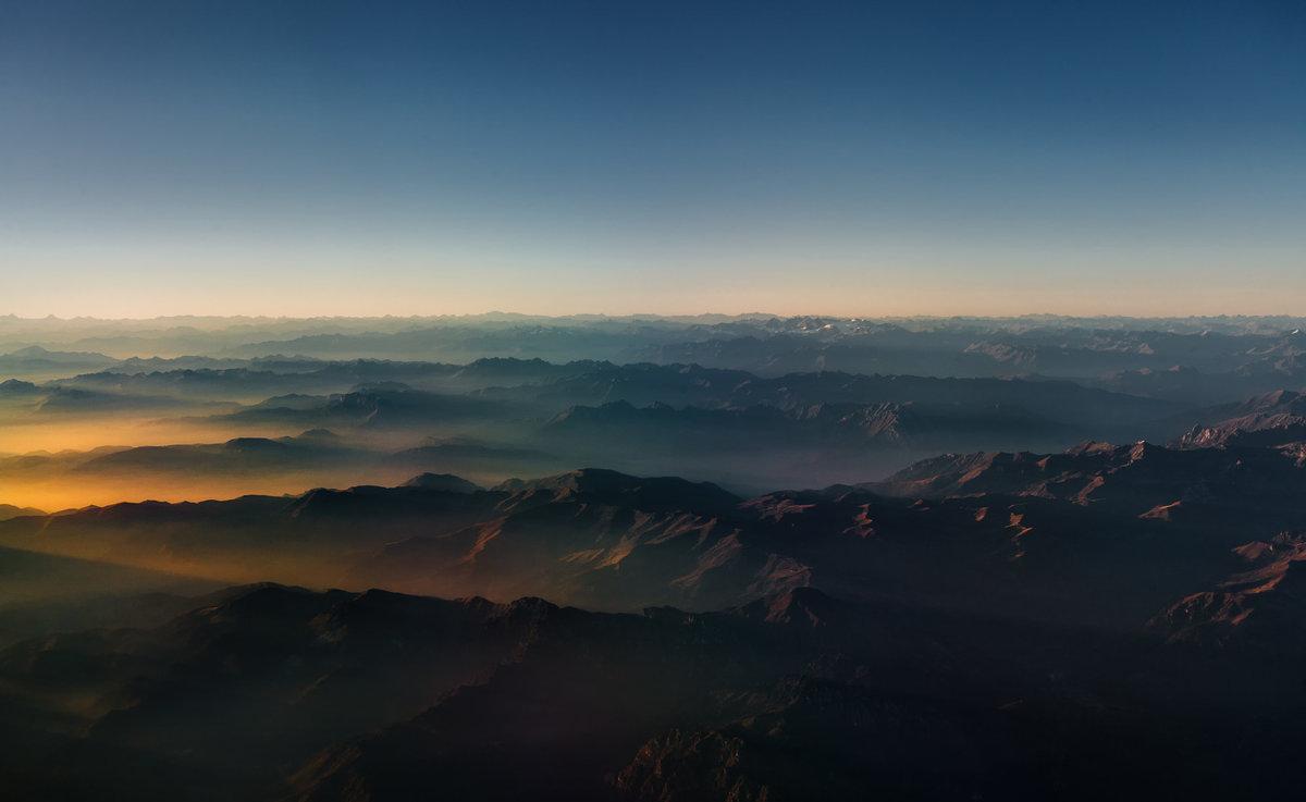 Вечерние Альпы...Италия - Швейцария!!! - Александр Вивчарик