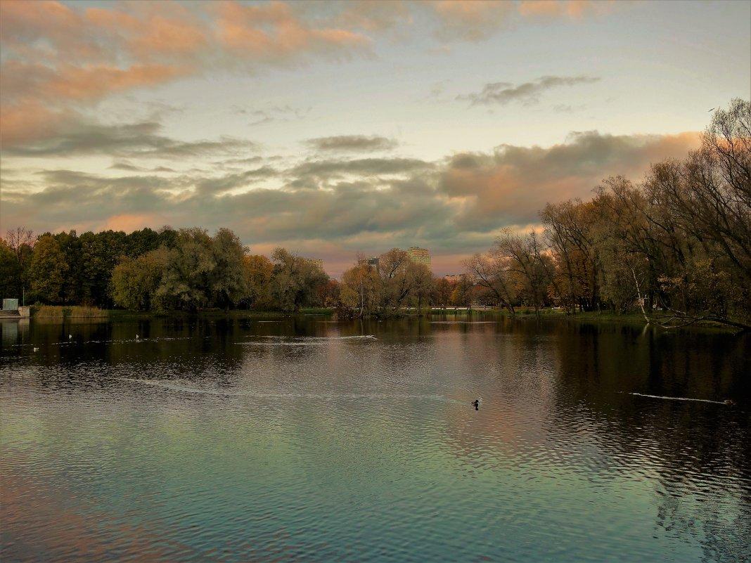Закат над осеннем Парком(19.10.2017)... - Sergey Gordoff