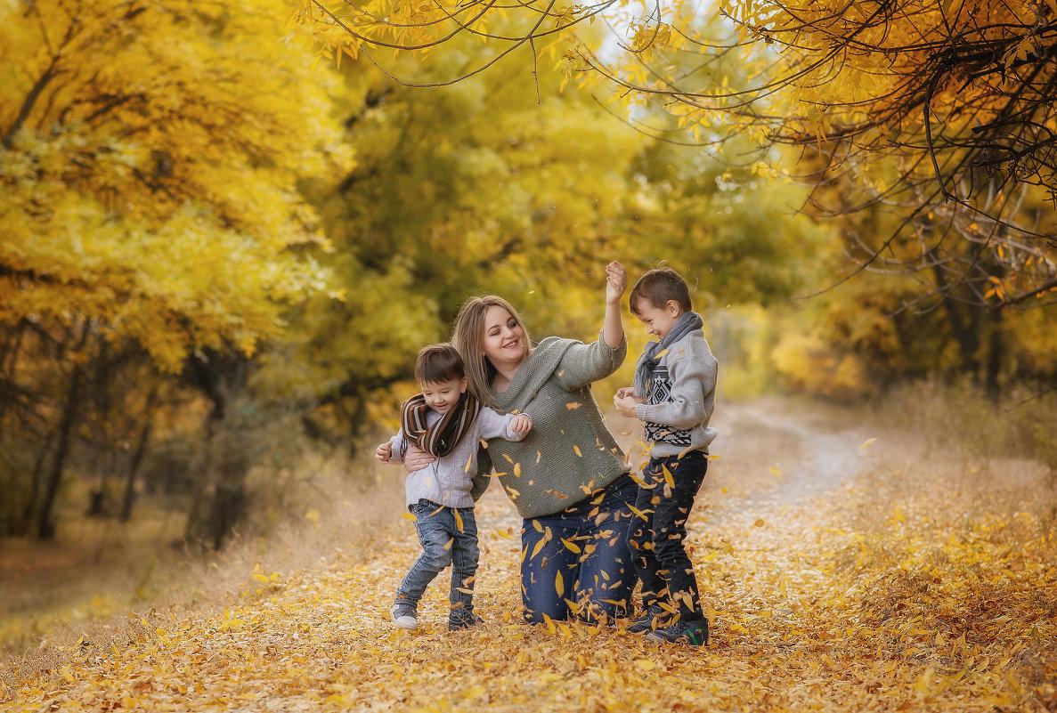 Мама и сыночки - Елена Федорова