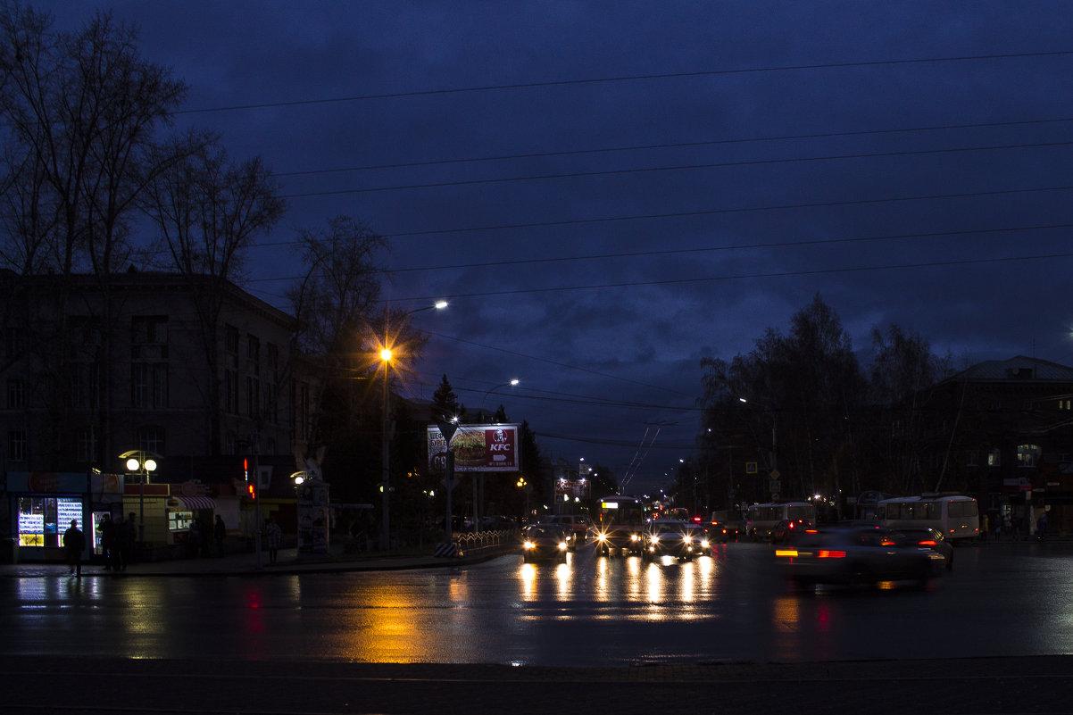Вечерний город. - Ирина