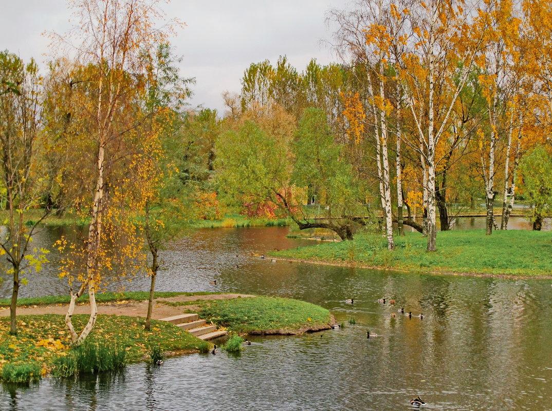 Осень в Московском парке Победы - Олег Попков