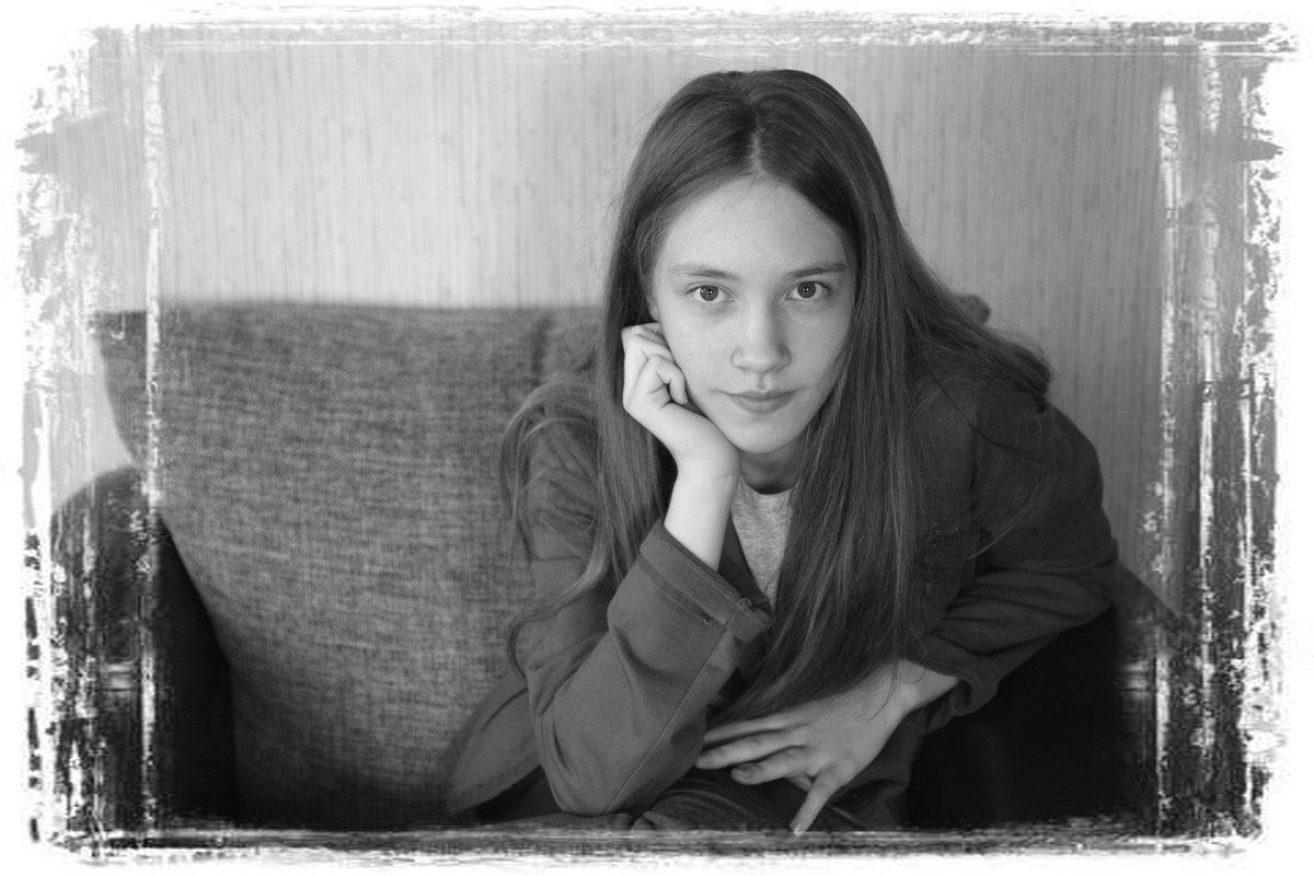 портрет семиклассницы - Светлана Хлебникова
