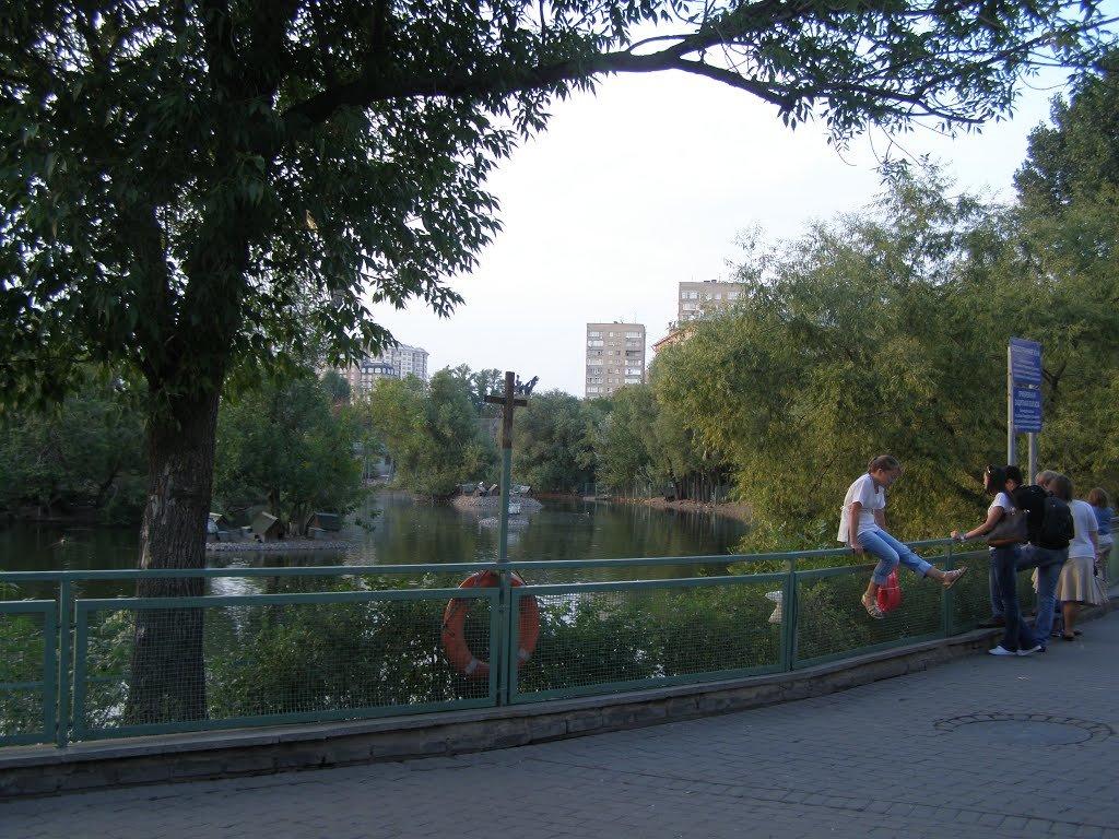 Московский зоопарк, посетители - Анна Воробьева