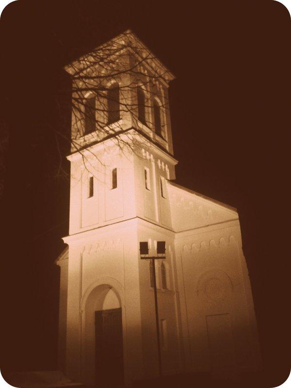 Vakaras mano gatvėje / Evening in my street - silvestras gaiziunas gaiziunas