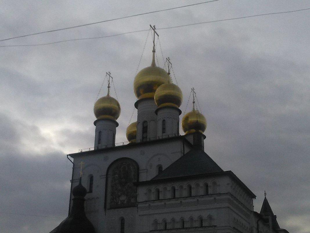Православный собор в Петербурге. (Феодоровский). - Светлана Калмыкова