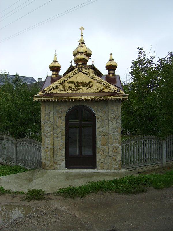 Небольшая   часовня   в   Отыние - Андрей  Васильевич Коляскин
